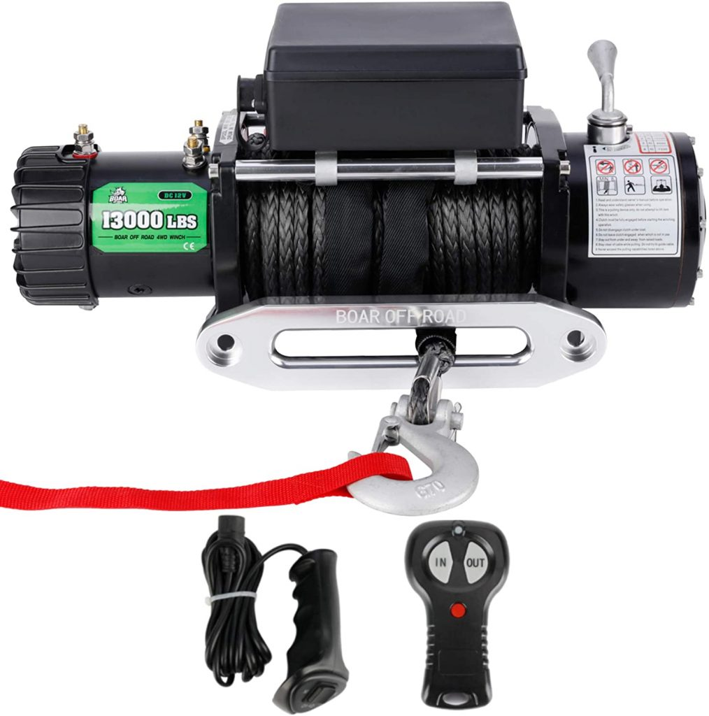 Powersports Off-Road Winch