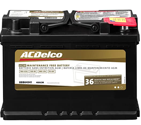 ACDelco 48AGM Professional Automotive Battery