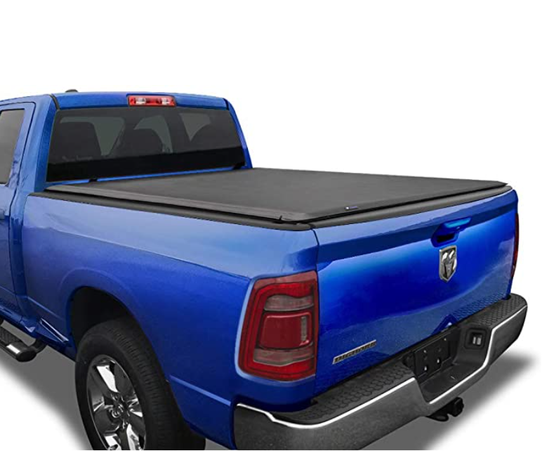 Tyger Auto T1 Soft Roll Up Truck Bed Tonneau Cover