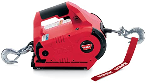 WARN PullzAll Cordless 24V DC Portable Electric Winch